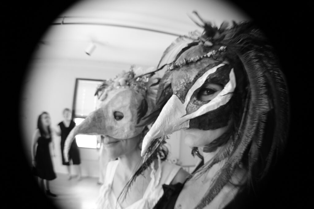 masked performers